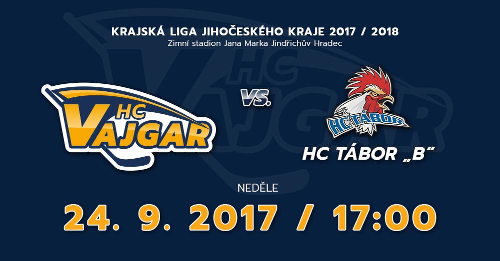 """HC Vajgar vs HC Tábor """"B"""""""