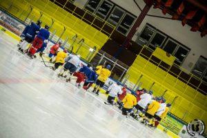 První trénink hokejistů HC Vajgar